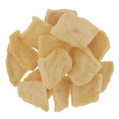 Dried Apples - Regular Moisture Infused Apples Dice