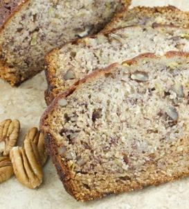 Pecan Apple Sauce Bread