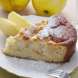 Honey Yogurt Apple Cake
