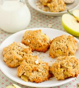 Apple Granola Cookies