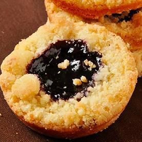 Blackberry Crumble Pie Cookies
