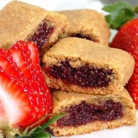 Strawberry Stuffed Cookies