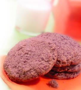 Wild Blueberry and Apple Cookies