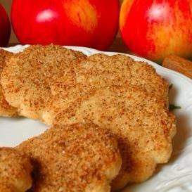Low-fat Whole Wheat Apple Cookies