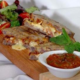 Apricot, Brie and Pancetta Walnut Panini