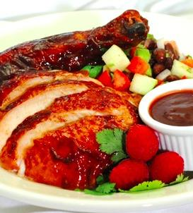 Smoked Raspberry Barbecue Chicken