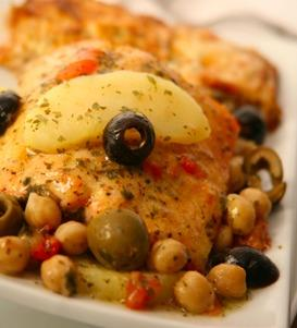 Spanish Roast Salmon