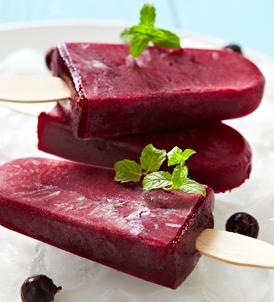Frozen Blueberry Veggie Bar