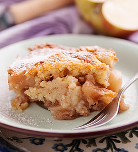 Gluten-Free Apple Custard Cake