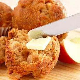 Apple Maple Muffins