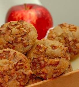 Dutch Apple Muffin with Sharp White Cheddar