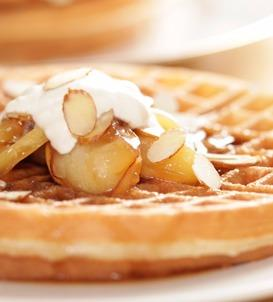 Caramel Apple Waffle Topping