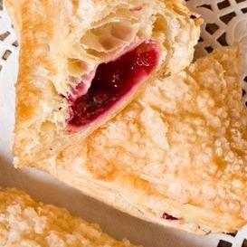 Dark Sweet Cherry Turnovers