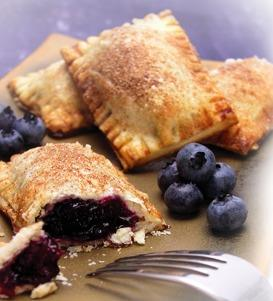 Mini Apple and Blueberry Pie
