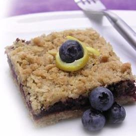 Apple Blueberry Bars