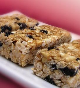 Cherry/Apple Granola Bars