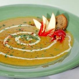 Apple, Butternut and Carrot Harvest Soup