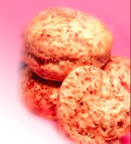 Strawberry Blossom Biscuit