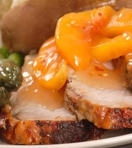 Peach and Chipotle Sauce
